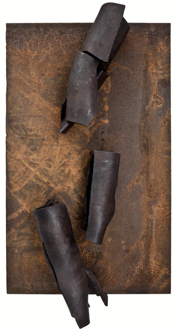 battered2, Eisen, 2010, Höhe: 100 cm