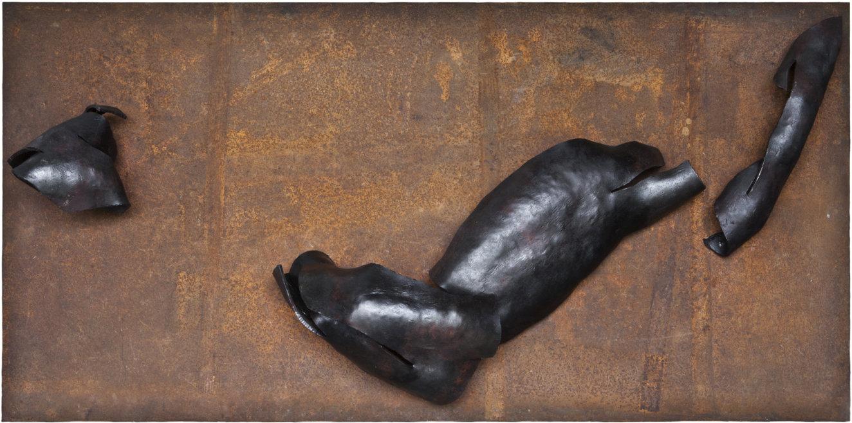 battered3, Eisen, 2011, Breite: 200 cm